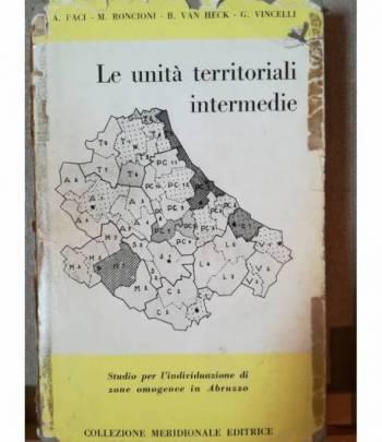 Le unità territoriali intermedie. Studio per l'individuazione di zone omogenee in Abruzzo.