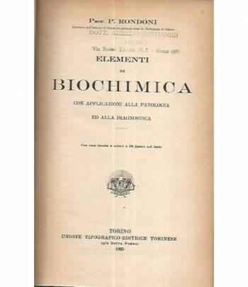 Elementi di biochimica