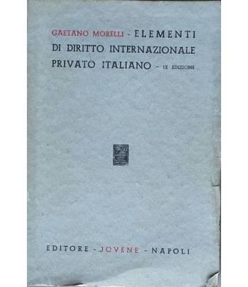Elementi di diritto internazionale privato italiano