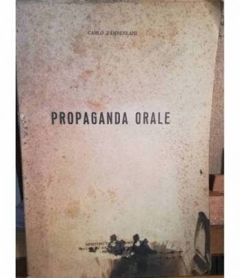 Propaganda orale