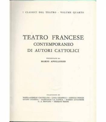 Teatro francese contemporaneo di autori cattolici