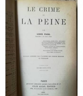 Le crime et la peine
