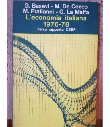L'economia italiana 1976-1978.
