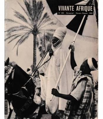 Vivante Afrique. n. 205 - Bimestriel - Novem.-Décem. 1959