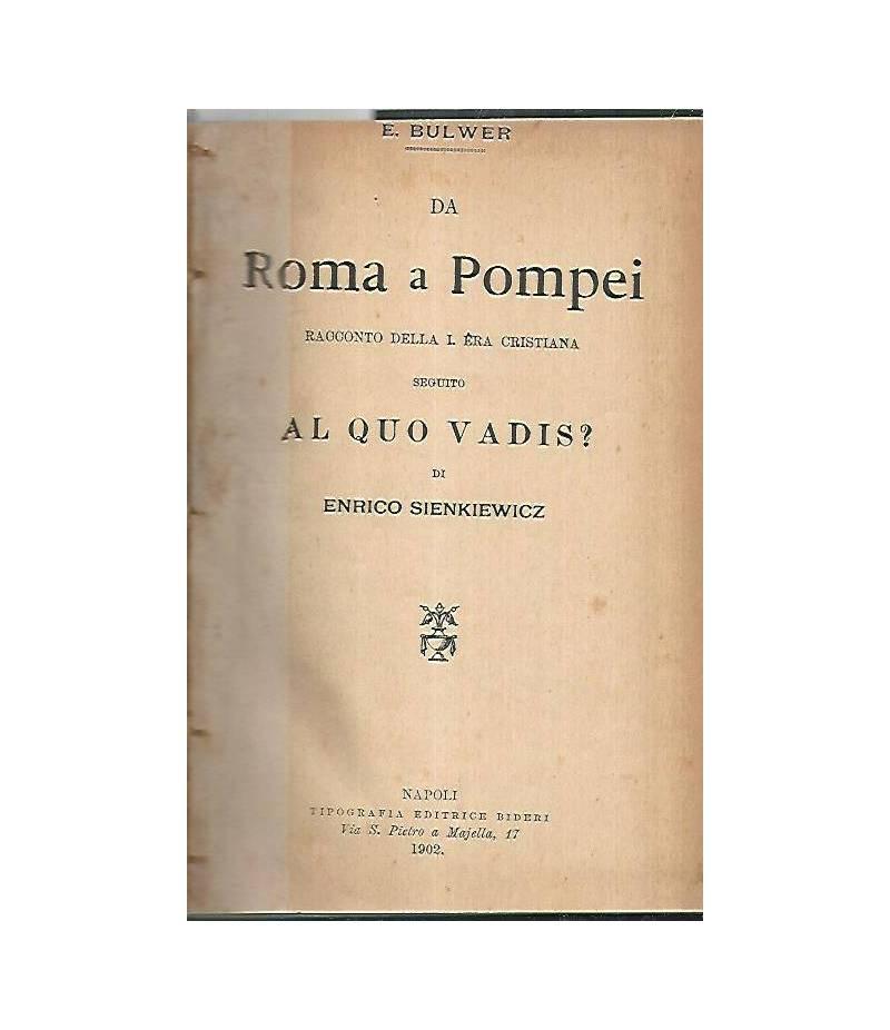 Da Roma a Pompei