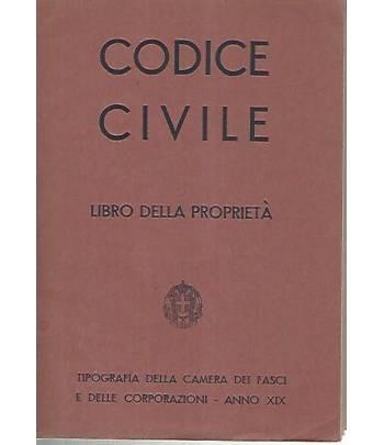 Codice civile. Libro delle proprietà