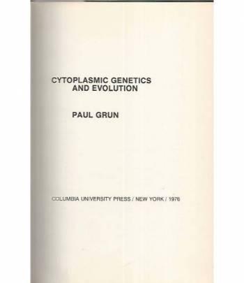 Cytoplasm genetics and evolution