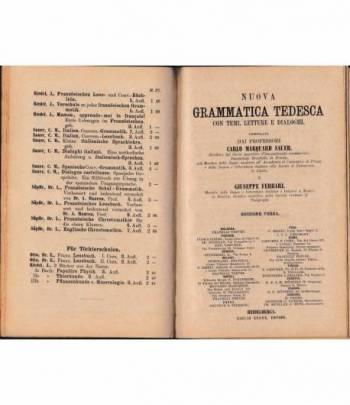 Grammatica Tedesca. Metodo Gaspey - Otto - Sauer