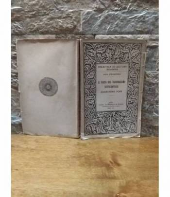 Il poeta del razionalismo settecentesco Alessandro Pope