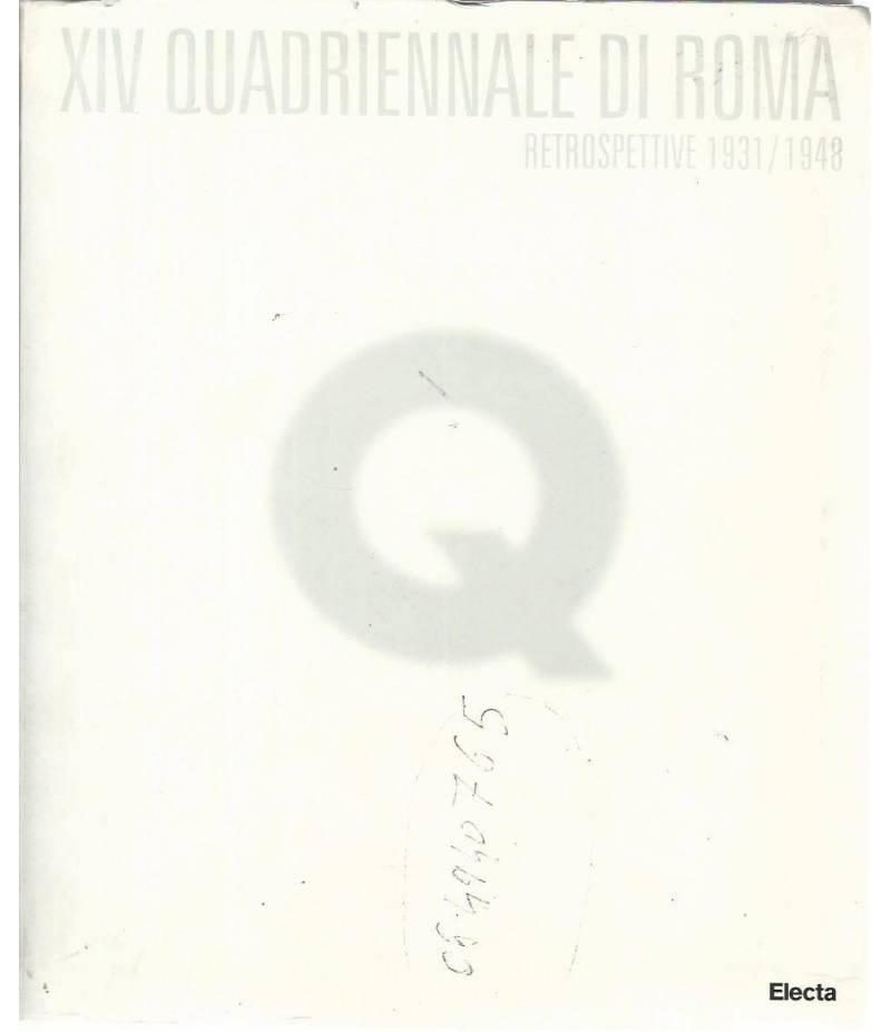 XIV quadriennale di Roma. Restrospettive 1931/1948
