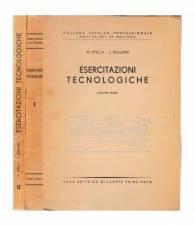 Esercitazioni tecnologiche. 2 volumi