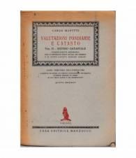 Valutazioni fondiarie e catasto. Volume II - Estimo catastale