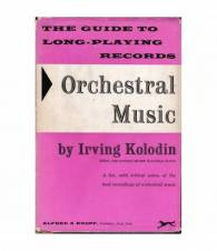 The guide to long-playing records. Orchestral music