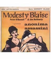 Modesty Blaise. N. 13. 1974. Anonima assassini. (Prima avventura della serie originale).