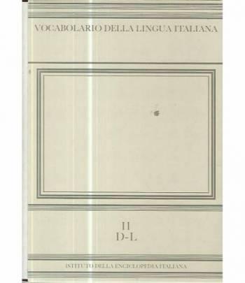 Vocabolario della lingua italiana. II D - L