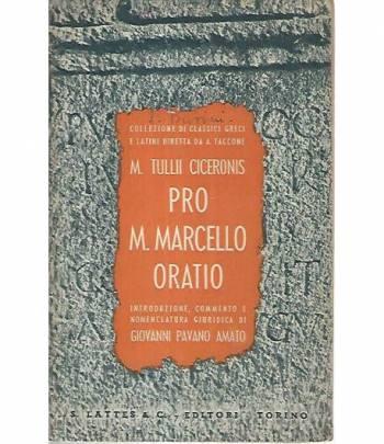 Pro M. Marcello Oratio