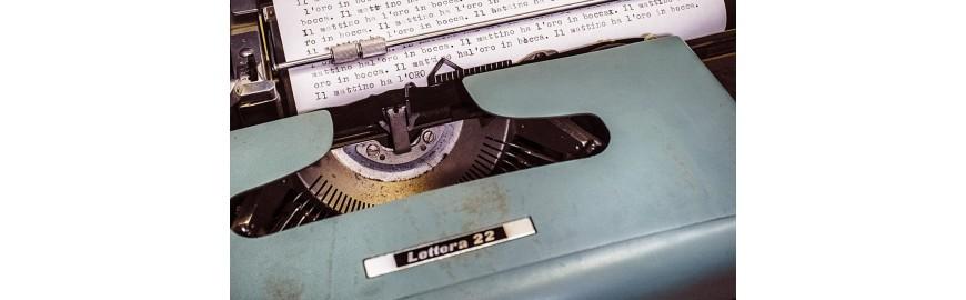 Macchine da scrivere e da cucire