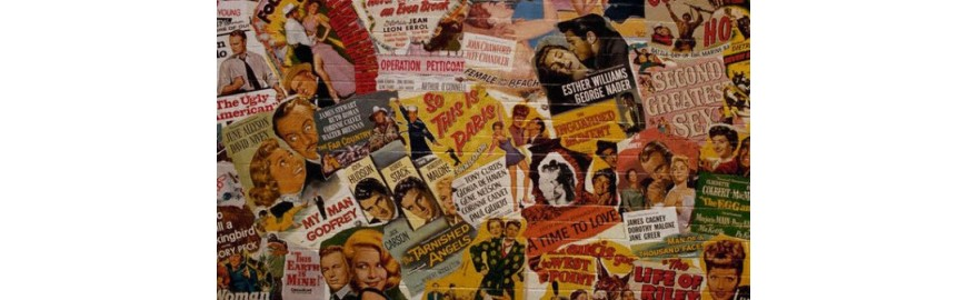Manifesti cinematografici pubblicitari Insegne Locandine